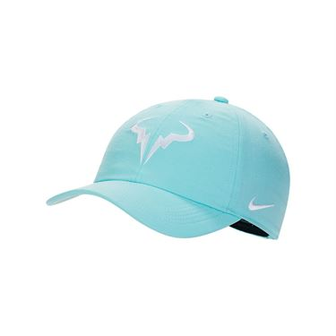 Nike Rafa Hat - Light Aqua/White