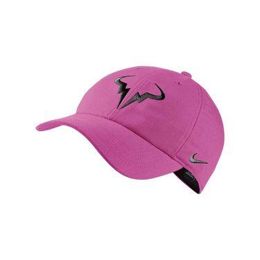 Nike Court Aerobill H86 Rafa Hat - Active Fuchsia/Black