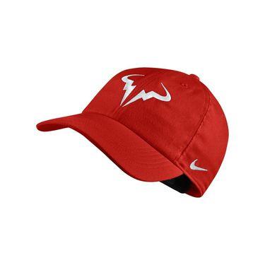 Nike Court Aerobill H86 Rafa Hat - Habanero Red White a52a0ddb577