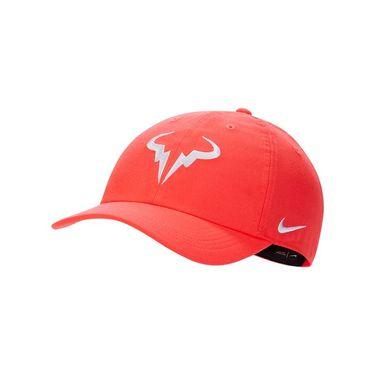 Nike Rafa Hat - Laser Crimson/White