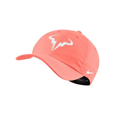 Nike Rafa Hat - Bright Mango/White