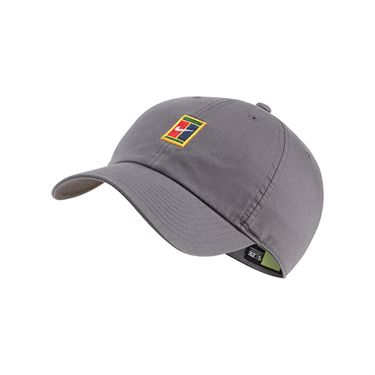 Nike Heritage 86 Court Logo Tennis Hat - Dark Grey