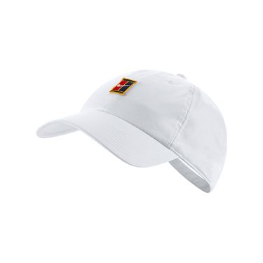 Nike H86 Court Logo Hat - White