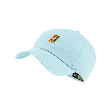 Nike Heritage 86 Court Logo Tennis Hat - Topaz Mist