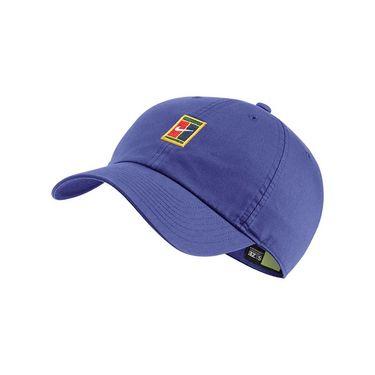 Nike Heritage 86 Court Logo Tennis Hat - Rush Violet