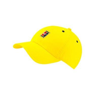 Nike Heritage 86 Court Logo Tennis Hat - Opti Yellow