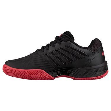 K Swiss Bigshot Light 3 Junior Tennis Shoe - Black/Lollipop/White