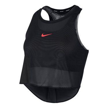 Nike Court Mesh Tank - Black