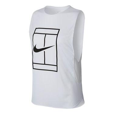 Nike Court Logo Tank - White