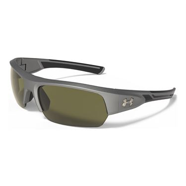 Under Armour Big Shot Sunglasses - Satin Carbon/Game Day