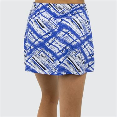 Bolle Wisteria A Line Skirt - Wisteria/Blue Water