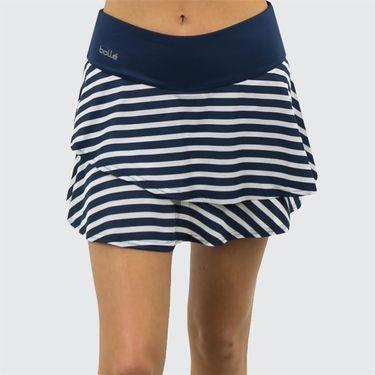 Bolle Admiralty Flounce Skirt - Navy