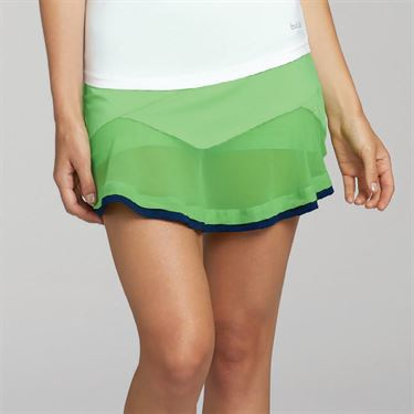 Bolle Ripple Effect Flounce Skirt - Mint Green