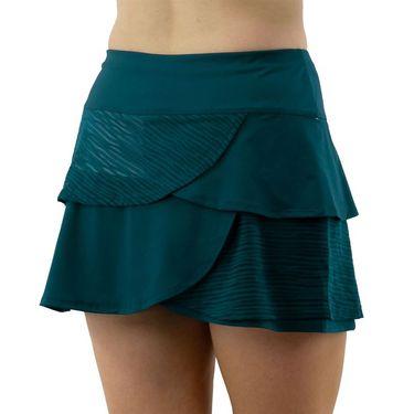 Cross Court Blue Abyss Scalloped Skirt Womens Poseidon 8610 8032û
