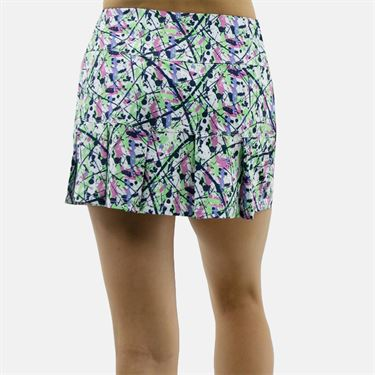 Bolle Ripple Effect 14 Inch Printed Skirt - White