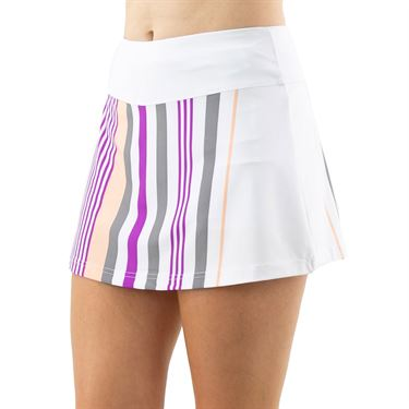 Cross Court Violet Dreams A Line Skirt Womens White 8615 30 0110û