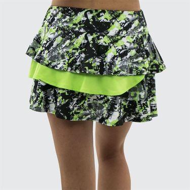 Bolle Velocity Double Flounce Skirt - Black