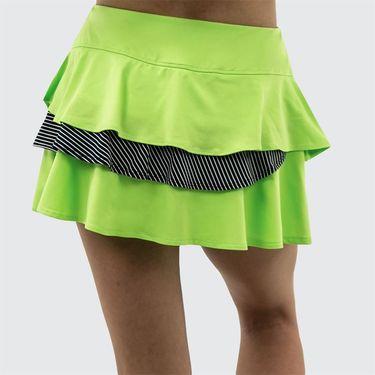 Bolle Velocity Double Flounce Skirt - Melon