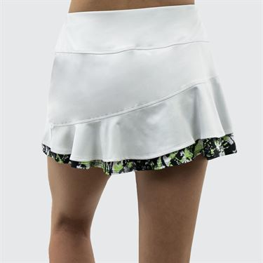 Bolle Velocity Double Ruffle Skirt - White