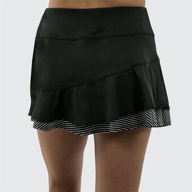 Bolle Velocity Double Ruffle Skirt - Black