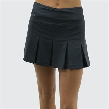 Bolle Essentials Pleat Skirt - Graphite