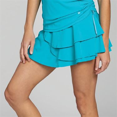 Bolle Footloose 13 Inch Ruffle Skirt - Aqua
