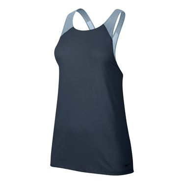 Nike Breathe Training Tank - Thunder Blue