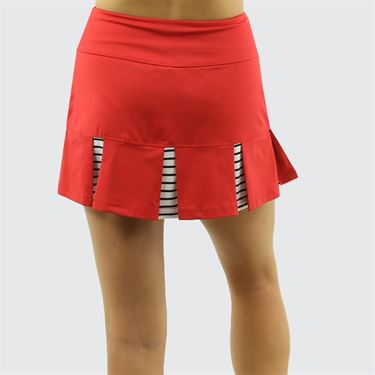 Bolle City Chic Pleated Skirt - Bolle Red