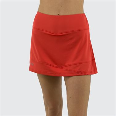 Bolle Maritime Blues Scallop 14 Inch Skirt Womens Red Poppy 8633 28 7431