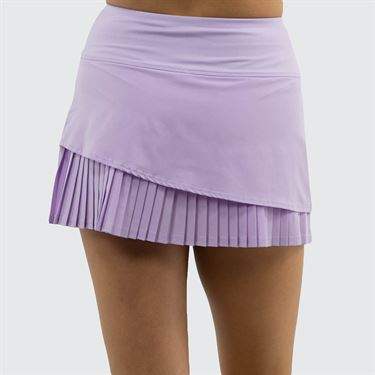 Bolle English Garden Pleated 13 Inch Skirt Womens Orchid 8652 28 3134