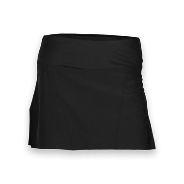 Bolle Back Pleated Tennis Skirt - Black