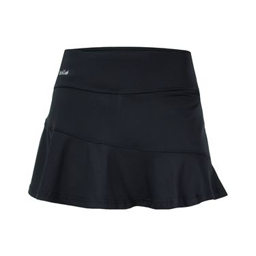Bolle Ravello Asymmetrical Flounce Skirt - Black