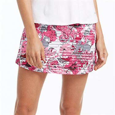 Bolle English Rose Skirt Womens Pink Passion Print 8668 29 0110