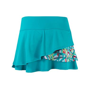 Bolle Kaleidoscope Flounce Skirt - Sea Glass