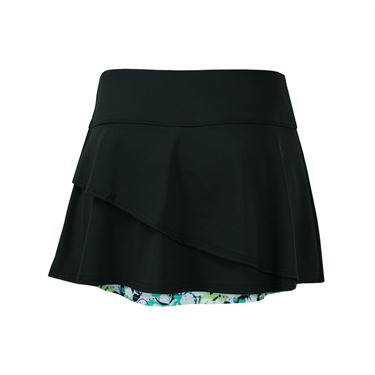 Bolle Whiplash Flounce Skirt - Black