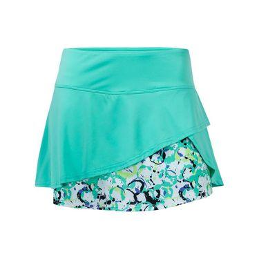 Bolle Whiplash Flounce Skirt - Sea Foam