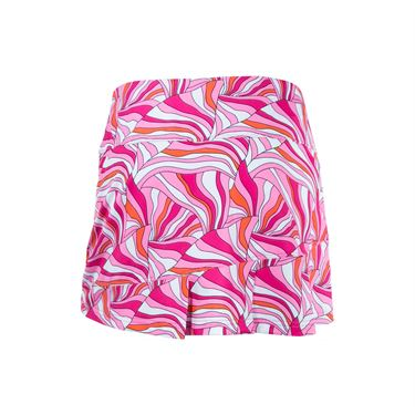 Bolle Color Burst Pleated Skirt - Fuchsia