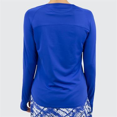 Bolle Wisteria Long Sleeve Top - Blue Water