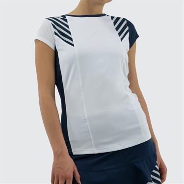 Bolle Admiralty Cap Sleeve Top - White