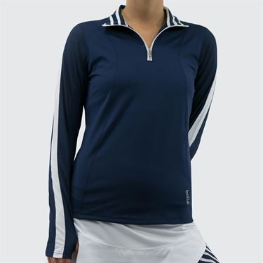 Bolle Admiralty 1/4 Zip Pullover - Navy