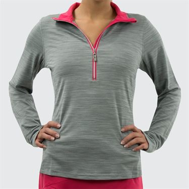 Bolle Viper Long Sleeve 1/4 Zip - Ash Heather