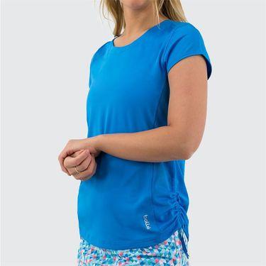 Bolle Blue Bayou Cap Sleeve Top Womens Peacock Blue 8726 29 4359