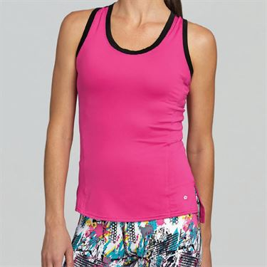 Bolle Footloose Racerback Tank - Fuchsia
