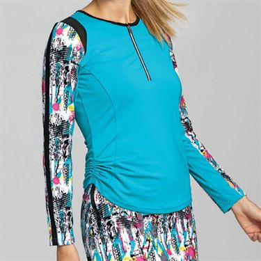 Bolle Footloose Long Sleeve Top - Aqua