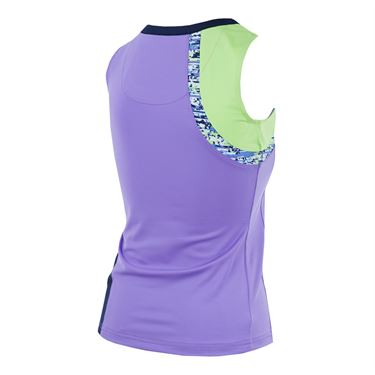 Bolle Sorrento Scoop Neck Tank - Lavender/Green