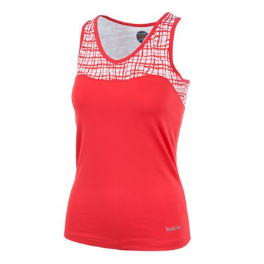 Bolle Positano Keyhole Tank - Coral