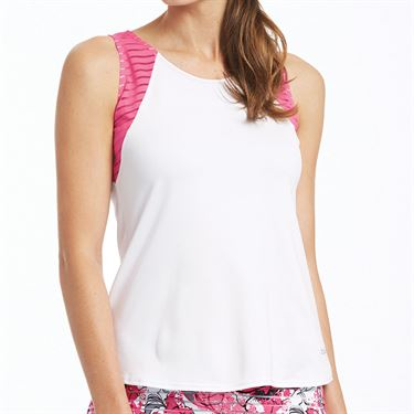 Bolle English Rose Tank Womens White/Pink Passion 8785 29 0110