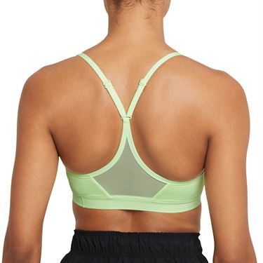 Nike Indy Sports Bra Womens Barely Volt/Black 878614 701