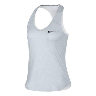 Nike Court Pure Printed Tank - White