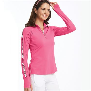 Bolle English Rose Long Sleeve Top Womens Pink Passion 8789 29 7317